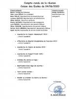 COMPTE RENDU SEANCE DU 4 JUIN 2020