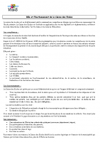 ROLE ET FONCTIONNEMENT CDE 2021